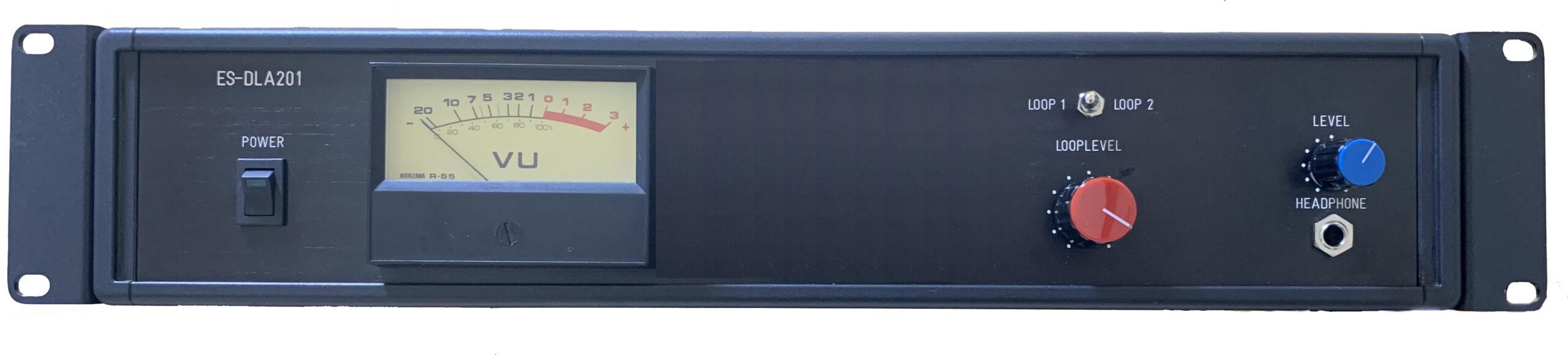 チャンネル切替式ループアンプ