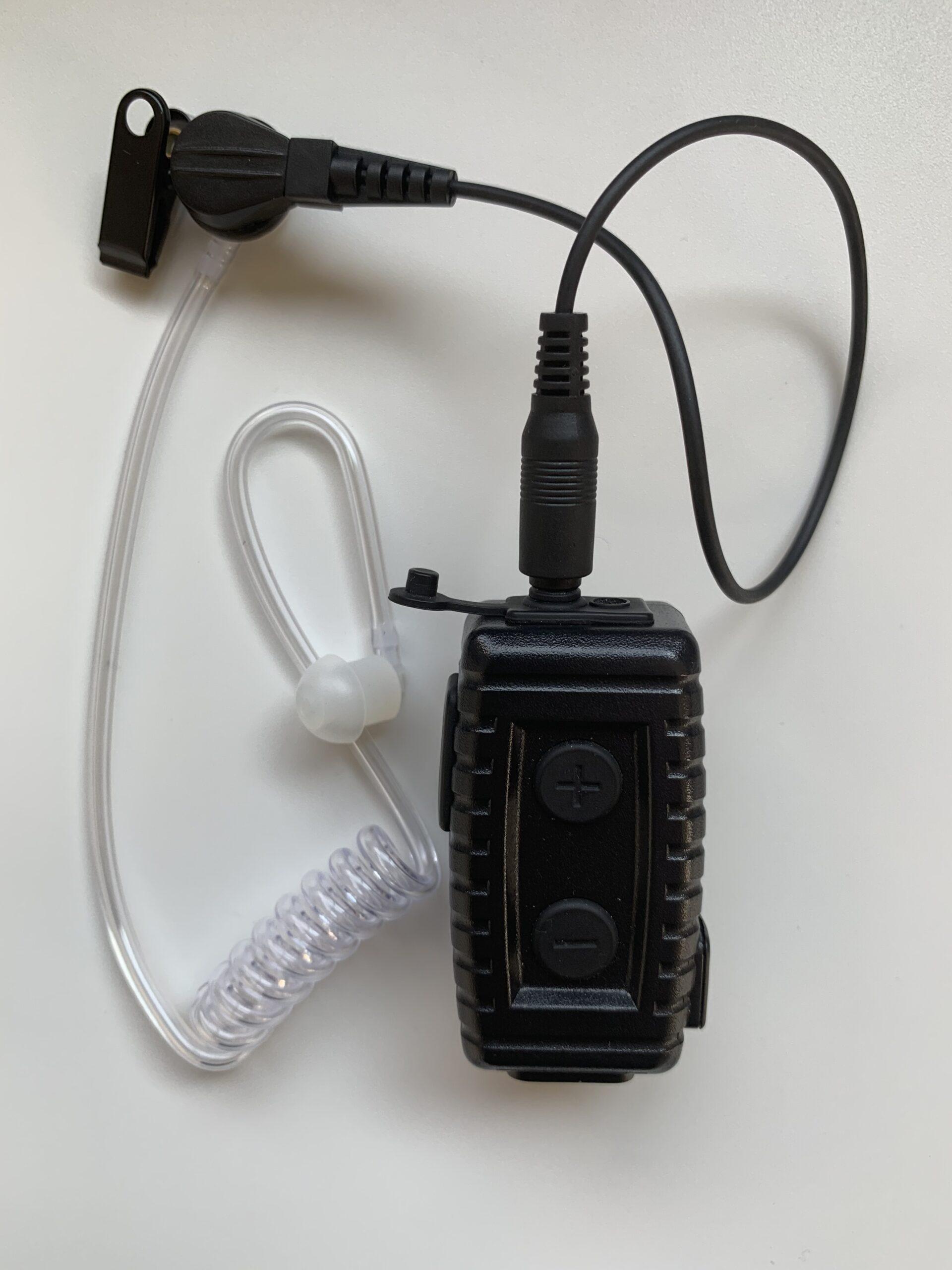 PTTボタン付きブルートゥースイヤフォンマイク